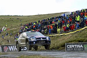 WRC 2015 - Rallye Großbritannien - Ogier/Ingrassia auf dem Weg zum Sieg