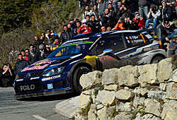 WRC 2015 - Rallye Monte Carlo - Sébastien Ogier und Julien Ingrassia