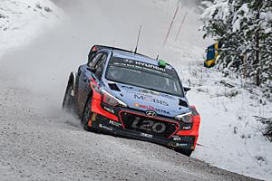 WRC 2016 - Rallye Schweden - Paddon/Kennard in Schweden auf dem Weg zu Rang zwei