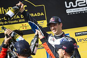 WRC 2016 - Rallye Spanien: Sebastién Ogier feiert den vorzeitigen Titelgewinn