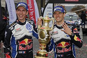 WRC 2016 - Rallye Großbritannien: Julien Ingrassia und Sébastien Ogier gewinnen und sichern VW den Markentitel
