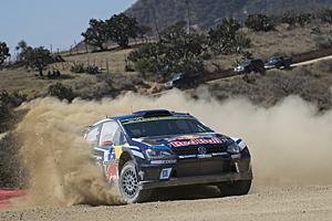 WRC 2016 - Rallye Mexiko - Erster im Ziel: Jari-Matti Latvala und Beifahrer Miikka Anttila